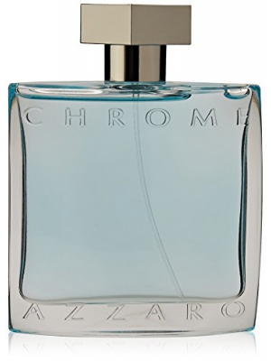 Azzaro Men's Chrome Eau de Toilette Spray, 3.4 Ounce