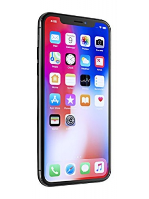 Apple iPhone X, GSM Unlocked, 256GB - Space Gray (Refurbished)