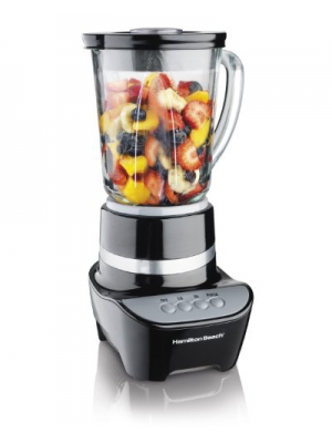 Hamilton Beach Wave Maker 700-Watt Blender, Black (53205)