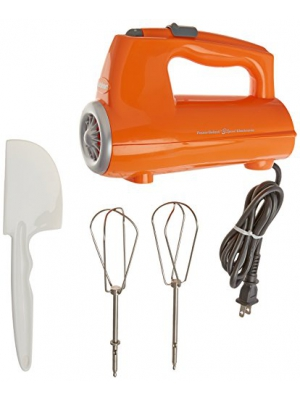 Cuisinart CHM-3ORFR 3-Speed Electronic Hand Mixer, Orange
