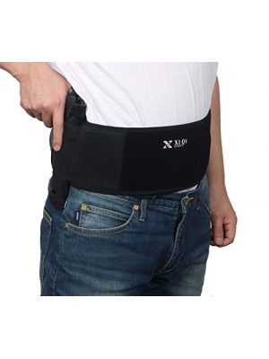 Belly Band Holster for Concealed Carry - Neoprene Waist Band Holster Fits Glock, Ruger LCP, SIG Sauer, 1911 and Similar Sized Guns for Men and Women