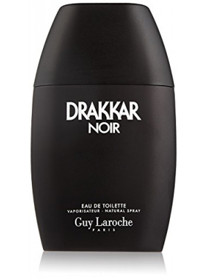 Guy Laroche Drakkar Noir Eau de Toilette Spray for Men, 3.4 Fluid Ounce