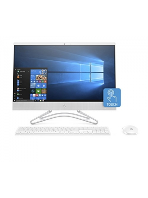 HP 24-inch All-in-One Computer, AMD A9-9425, 8GB RAM, 1TB Hard Drive, Windows 10 (24-f0040, White)