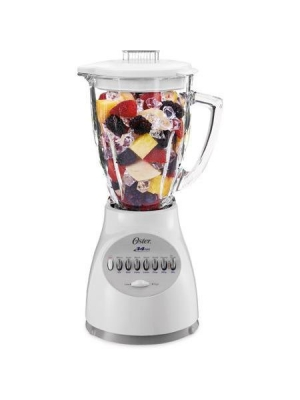 Oster 14-Speed Accurate Blend 200 White Blender