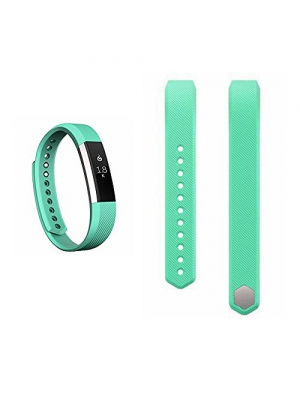 Replacement Straps For Fitbit Alta, Dunfire Colorful Accessory Band/ Wristbands With FREE Metal Clasps For Fitbit Alta Smart Fitness Tracker