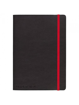 "Black n' Red Business Journal, 71 Sheets, 8-1/4 x 5-3/4"", Black (400065000)"