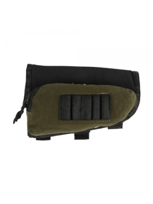 Persevering Allen Buttstock Shell Holder And Pouch For Rifles Hunting Sporting Goods