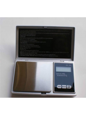 Mini Portable Electronic Professional 200g 0.01g Pocket Jewelry Digital Weight LCD Blance Scale (Sliver)