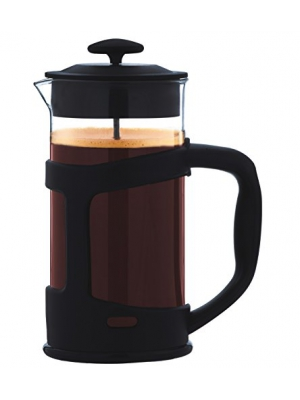 GROSCHE TERRA Recycled French Press -- The worlds MOST ECO FRIENDLY French Press. Made From 75 % recycled materials For a Better Coffee and a Better World! 34 fl. oz/1000 ml