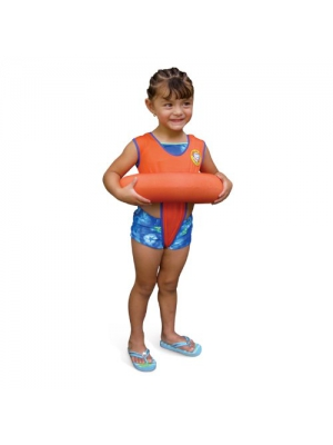 Poolmaster 05057 Learn-To-Swim Tube Trainer - available in Orange and Blue
