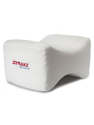 Ziraki Memory Foam Wedge Contour Orthopedic Knee Pillow for Sciatica Nerve Relief, Back, Leg, Hip, and Joint Pain, Leg Support, Spine Alignment, & Pregnancy Cushion