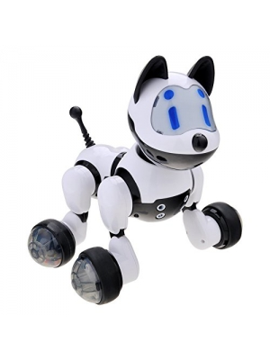 Electronic Dog, GEEDIAR Electronic Pet Dog with Fun Puppy Activities Walk Songs Dancing and Dog Sounds for Childs Christmas Gift