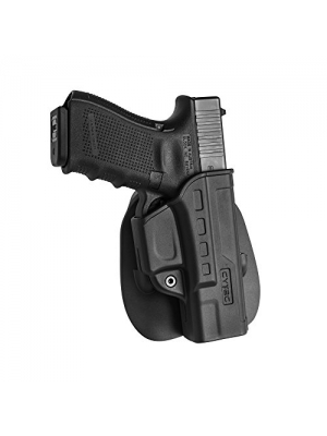 NEW! Fast Draw Right-Hand Glock OWB Adjustable Paddle Holster, for Glock 19, 23,32 Gen 1 2 3 4 , Outside Waistband Tactical Pistol Holster, Best for Competition Shooter, Police, Law Enforcement