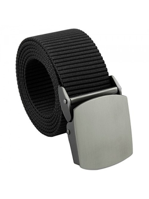 squaregarden Men's Nylon Webbing Military Style Tactical Duty Belt