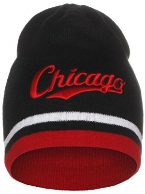 American Cities USA Sports City State Cuffless Beanie Knit Hat Cap