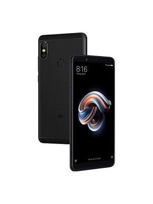 "Xiaomi Redmi Note 5 64GB Black, Dual Sim, 4GB RAM, 5.99"", GSM Unlocked Global Version, No Warranty (Black)"