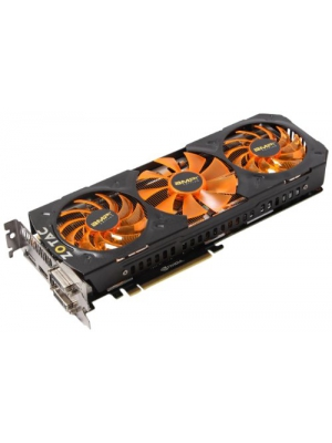 Zotac GeForce GTX 780 Ti AMP Edition 3GB GDDR5 PCI Express 3.0 HDMI DVI DisplayPort SLI Ready Graphics Card ZT-70504-10P