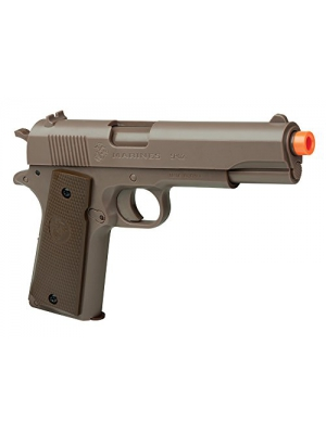 U.S. Marines MCSP02 Corps SP02 Spring Powered Single Shot Airsoft Pistol