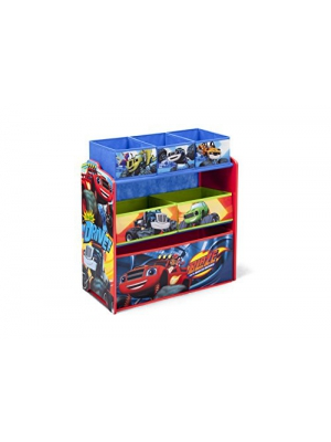 Delta Children Multi-Bin Toy Organizer, Nick Jr. Blaze and the Monster Machines