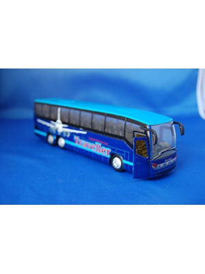 Die Cast Traveler Coach Bus 7 inch toy random color bus