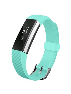 For Fitbit Alta HR and Alta Bands, UMTELE Soft Replacement Wristband with Metal Buckle Clasp for Fitbit Alta Smart Fitness Tracker