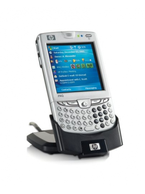 HP iPaq 6945 Unlocked Cell Phone with Wi-Fi, GPS, MP3/Video Player, SD--U.S. Version with Warranty (Silver)