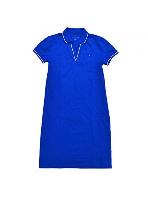 Tommy Hilfiger Womens Tory Mesh Polo Dress