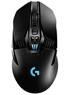 Logitech G903 LIGHTSPEED Wireless Gaming Mouse W/ Hero 16K Sensor, 140+ Hour with Rechargeable Battery and Lightsync RGB. PowerPlay Compatible, Ambidextrous, 107G+10G optional, 16, 000 DPI