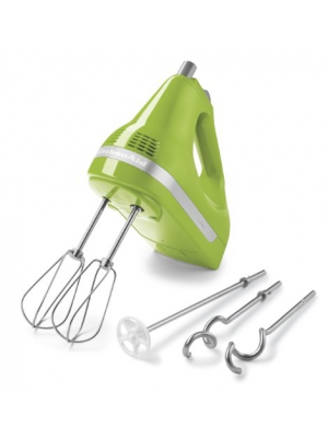 KitchenAid KHM5APGA Green Apple 5 Speed Ultra Power Hand Mixer