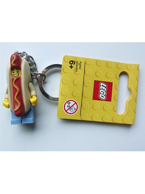 LEGO Hot Dog Guy Key Chain (853571)