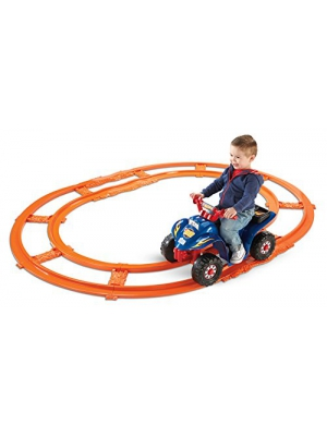 Power Wheels Hot Wheels Lil Quad with Track [Amazon Exclusive]