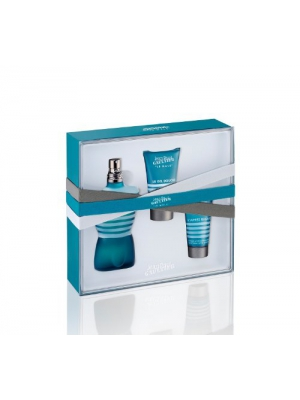 Jean Paul Gaultier Le Male by JPG, 3 piece gift set for men.