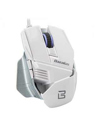 DLAND New LED 2000 DPI Wired USB Optical Gaming Mouse for PC and Mac, 6 Programmable Buttons, Omron Micro Switches