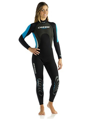 Cressi Morea - Womens Wetsuit Full 3mm, in Premium High Stretch Neoprene - Cressi Quality Since 1946
