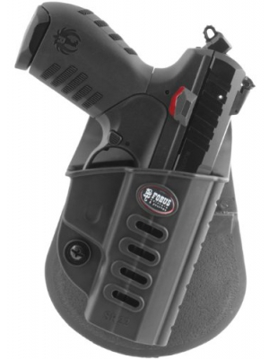 Fobus Tactical SR-22 RT Right Hand Conceal Carry Polymer Roto Paddle Holster for Ruger SR22 - Black