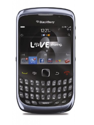 Blackberry Curve 3G 9300 Unlocked GSM Phone with 2MP Camera, GPS and Wi-Fi - Blue