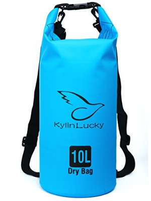 KylinLucky Waterproof Dry Bag-For Kayaking/Boating/Canoeing/Fishing/Rafting/Swimming/Camping/Snowboarding