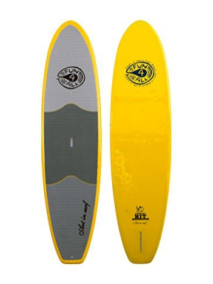 Art in Surf Rhino Hit Paddle Board