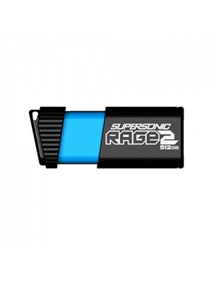 Patriot 512GB Supersonic Rage 2 Series USB 3.0/3.1 Gen 1 Flash Drive with Up to 400MB/sec Read, 300MB/s Write (PEF512GSR2USB)