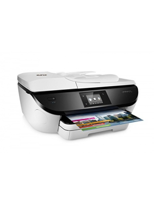HP OfficeJet 5746 Wireless All-in-One Photo Printer with Mobile Printing in White (Certified Refurbished)