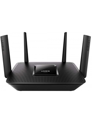 Linksys - Max-Stream AC2200 Tri-Band Wi-Fi Router (EA8300) Black - New (Renewed)