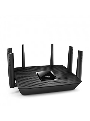 Linksys Max-Stream Ac4000 Mu-Mimo Wifi Tri Band Router, Brown Box 90 Day Linksys