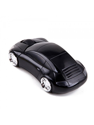 3D Wireless Optical 2.4GHz Cool Sports Car Shaped Mouse Mice with 1600DPI USB Receiver