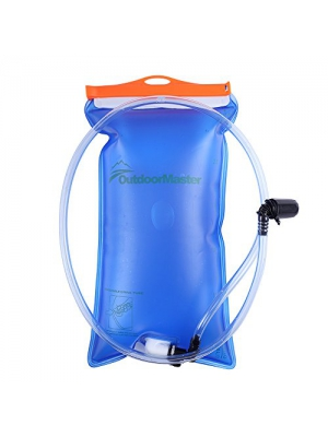 OutdoorMaster Hydration Bladder with Leak Proof Connection System with 2.5L/3L Capacity (3L)