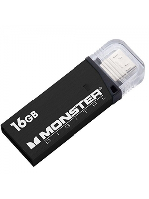 Monster Digital 16GB 80/mbs USB 3.0 On-The-Go Flash Drive