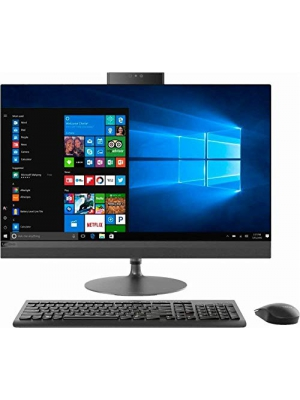 "Premium 2019 Lenovo IdeaCentre 520-27IKL 27"" All-in-One QHD Micro-Edge Touchscreen Desktop Computer Intel Quad-Core i7-7700T 8GB/16GB/32GB RAM 256GB/512GB/1TB PCIe SSD 2TB HDD DVD WiFi USB-C Win 10"