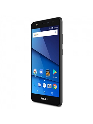 "BLU Studio J8 LTE - 5.5"" 4G Unlocked Smartphone - 16GB+2GB RAM with Fingerprint Sensor -Black"