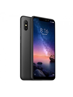 "Xiaomi Redmi Note 6 Pro 64GB/4GB RAM 6.26"" Dual Camera LTE Factory Unlocked Smartphone Global Version (Black)"