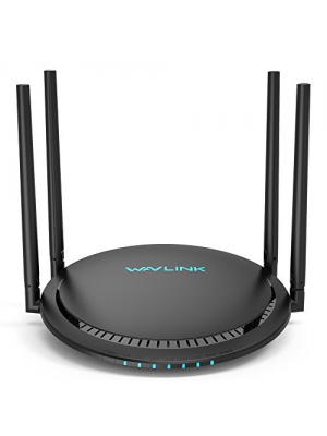 [Newest 2019] WAVLINK 1200Mbps Smart WiFi Router/High Speed WiFi Range Extender/5GHz Gigabit Dual Band Wireless Internet Router for Home-(531G3)