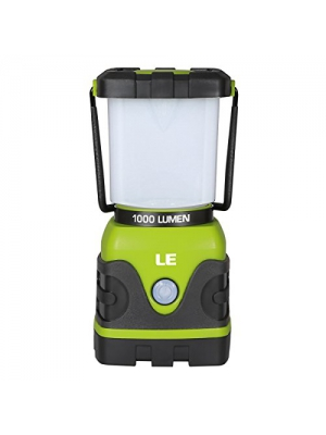 LE 1000lm Dimmable Portable LED Camping Lantern 4 Modes Water Resistant Light Battery Powered Lamp for Home Garden Outdoor Hiking Fishing Emergency
